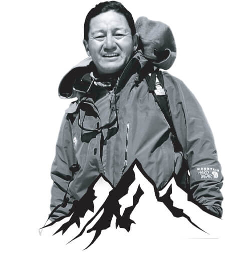 MOUNTAINEERING WITH JAMLING TENZING NORGAY
